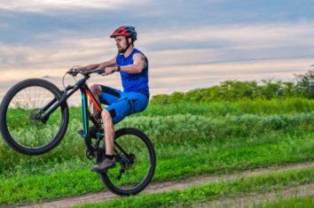 Testing bike brakes