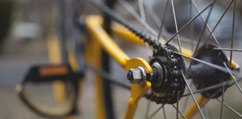 clean bicycle chain